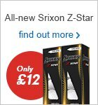 Srixon Z-Star Performance Pack | ONLY £12