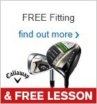 Free Fitting & Free Lesson with Callaway Clubs
