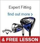 Expert Fitting & Free Lesson with Callaway clubs