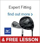Expert Fitting & Free Lesson with Mizuno Clubs