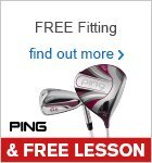 Free Fitting & Free Lesson with PING Clubs