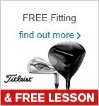 Free Fitting & Free Lesson with Titleist Clubs