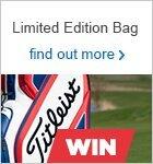 Win a Titleist Limited Edition Cart Bag