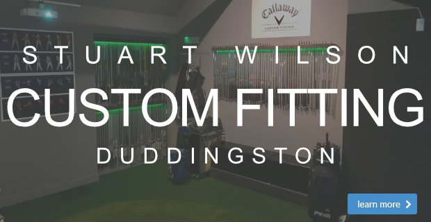 Custom Fitting Stuart Wilson