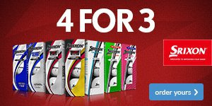 Srixon 4 For 3 From £21.99