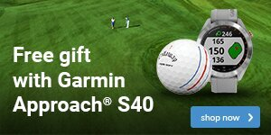 Garmin Approach S40 gift with purchase
