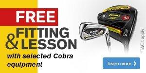 CES Cobra - FREE Fitting & FREE Lesson