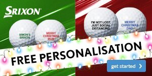 Srixon Christmas Ball Personalisation from £19.99