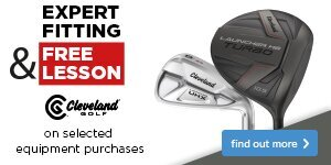 Expert Fitting & Free Lesson with Cleveland Clubs