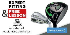 Expert Fitting & Free Lesson with Lynx Clubs