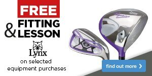 Free Fitting & Free Lesson with Lynx Clubs