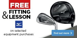 Free Fitting & Free Lesson with Mizuno Clubs