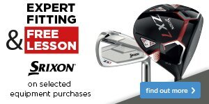 Expert Fitting & Free Lesson with Srixon Clubs