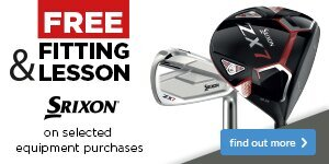 Free Fitting & Free Lesson with Srixon Clubs