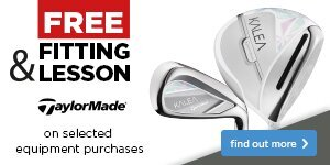 Free Fitting & Lesson with TaylorMade Clubs