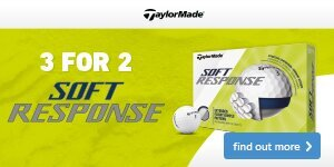 3 for 2 onTaylorMade Soft Response Golf Balls