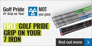 Free grip on your 7 iron