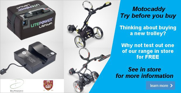 Motocaddy try before you buy