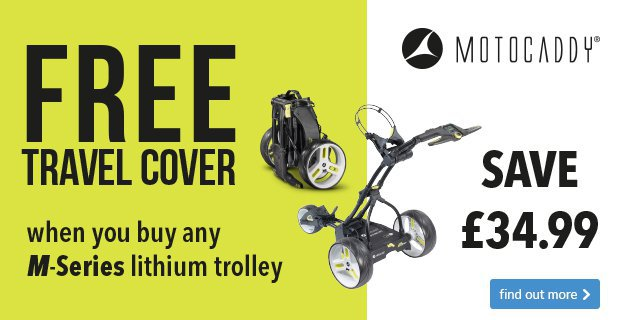 Motocaddy free travel cover