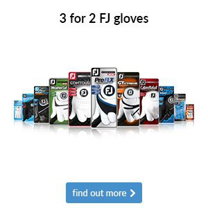 3 for 2 on FootJoy Gloves