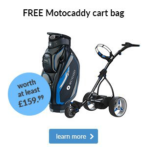 Motocaddy Free Cart Bag Offer