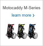 Motocaddy M-Series electric trolley range