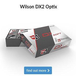 Wilson DX2 Optix Golf Balls