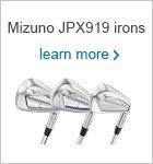 Mizuno JPX919 Irons