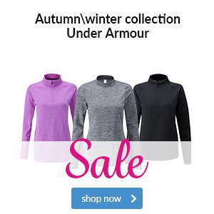 Under Armour Ladies Autumn Winter Collection