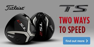 Titleist TS Metalwoods - two ways to speed