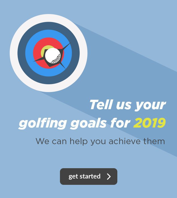 Tell us you golfing goals for 2019.We can help you achieve them.