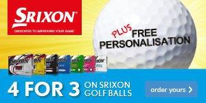 Srixon 4 For 3 Ball