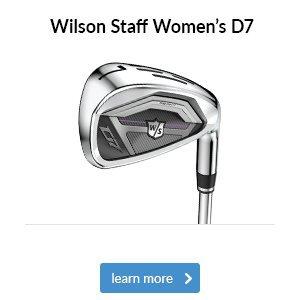 Wilson Staff Women's D7 Irons