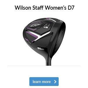 Wilson Staff Women's D7 Woods