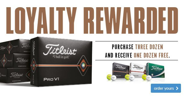 Titleist Loyalty Rewarded - £41.99