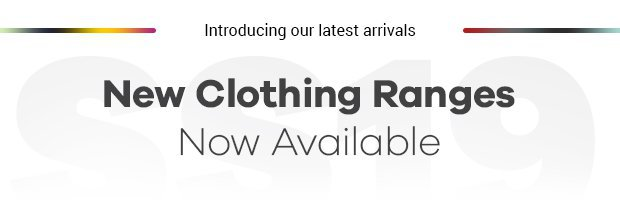 New clothing ranges available.