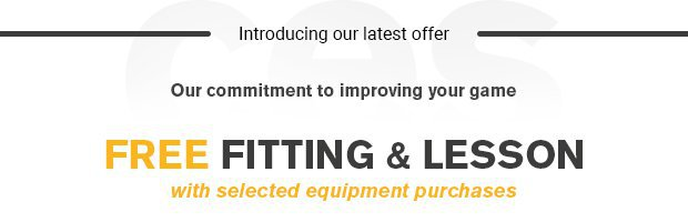 Our commitment to improving your game…The Complete Equipment Solution.Talk to the team to find out more.