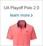 UA Playoff Polo 2.0 Wedge Graphic