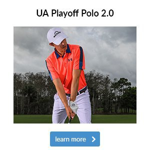 UA Playoff Polo 2.0 Wedge Graphic