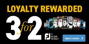 FootJoy 3 for 2 on gloves