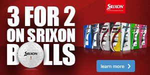 Srixon 3 for 2 on Golf Balls