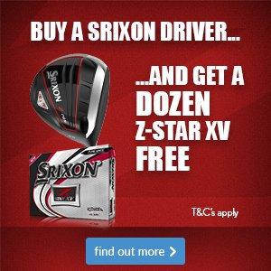 Srixon driver promotion
