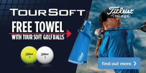 Titleist Tour Soft - Free Towel