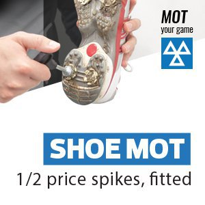 Shoe MOT - 1/2 Spikes Fitted