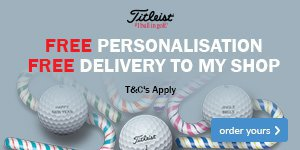 Titleist Free Ball Personalisation - From €29.95