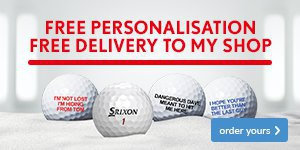 Srixon Free Ball Personalisation - From €45