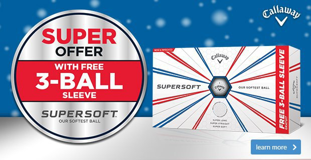 Callaway Supersoft Free Sleeve Offer