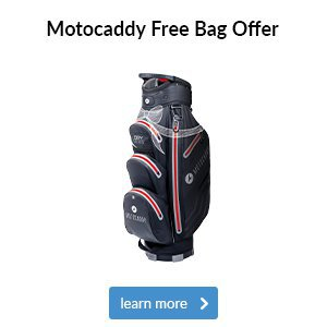Motocaddy Free Golf Bag Offer Worth Up To £219.99