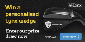 Win a Personalised Lynx Wedge