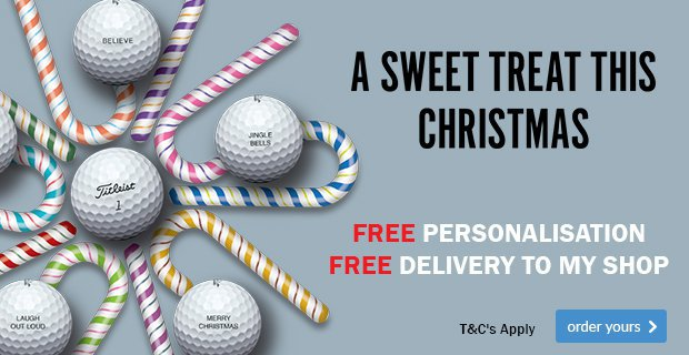 Titleist Xmas Ball Personalisation - from £22.99